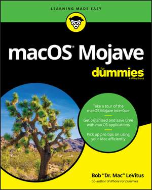 macOS Mojave For Dummies de Bob LeVitus