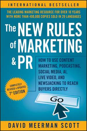 The New Rules of Marketing and PR imagine