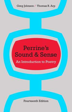 Perrine's Sound & Sense:  An Introduction to Poetry de Greg Johnson