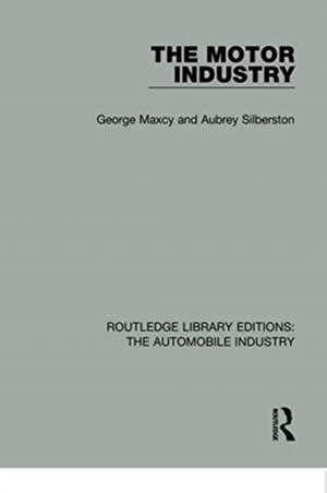 The Motor Industry de George Maxcy