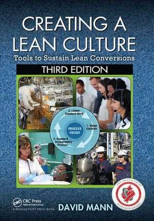 Creating a Lean Culture de David Mann