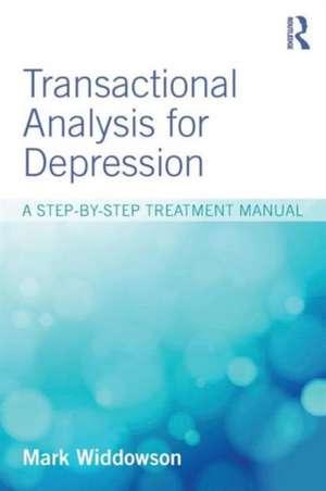 Transactional Analysis for Depression