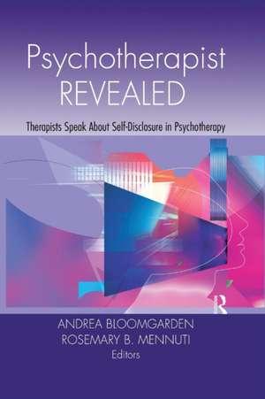 Psychotherapist Revealed de Andrea Bloomgarden