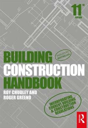 Building Construction Handbook de Roy Chudley