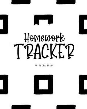 Homework Tracker (8x10 Softcover Log Book / Planner / Tracker) de Sheba Blake