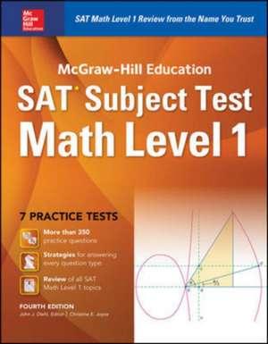 McGraw-Hill Education SAT Subject Test Math Level 1 4th Ed.