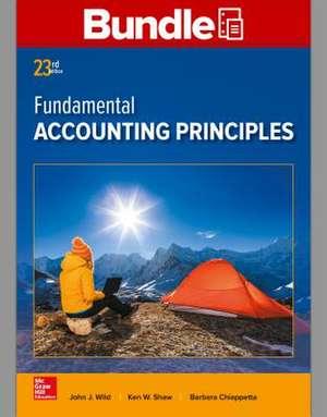 Gen Combo Looseleaf Fundamental Accounting Principles; Connect Access Card de John Wild