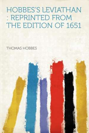 Hobbes's Leviathan de Thomas Hobbes