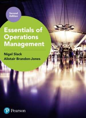 Essentials of Operations Management de Nigel Slack