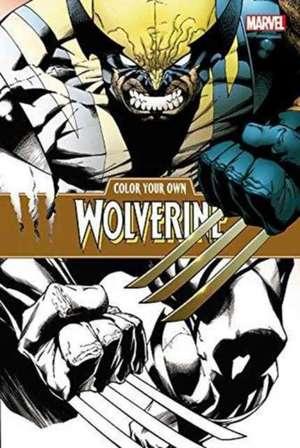 Color Your Own Wolverine de Joe Quesada