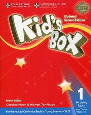 Kid's Box Level 1 Activity Book with Online Resources British English de Caroline Nixon