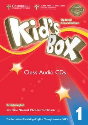 Kid's Box Level 1 Class Audio CDs (4) British English de Caroline Nixon