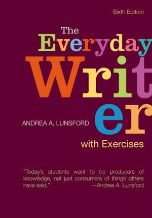 The Everyday Writer with Exercises imagine