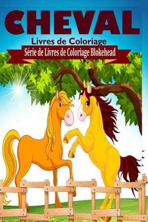 Cheval Livres de Coloriage de Le Blokehead
