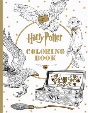 Harry Potter Colouring Book de Inc. Scholastic