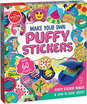 Make Your Own Puffy Stickers de Klutz Press