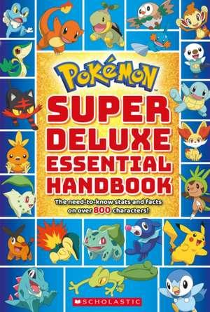 Pokemon: Super Deluxe Essential Handbook de  Scholastic
