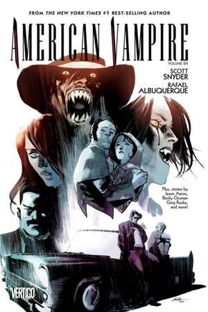 American Vampire, Volume 6:  Death of the Family Book & Mask Set [With Joker Mask] de Scott Snyder