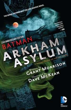 Batman Arkham Asylum 25th Anniversary:  Red Plague de Grant Morrison