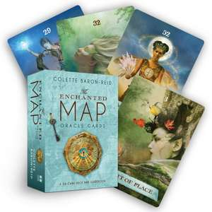 The Enchanted Map Oracle Cards imagine