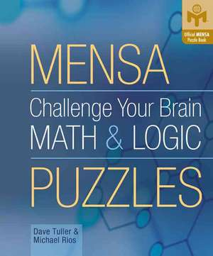 Mensa Challenge Your Brain Math & Logic Puzzles imagine