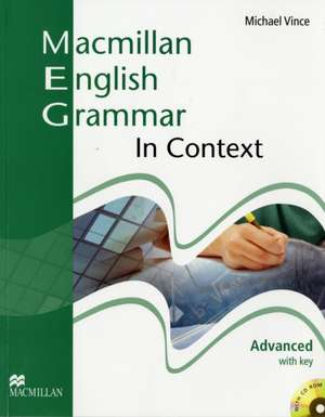 Macmillan English Grammar In Context Advanced Pack with Key imagine
