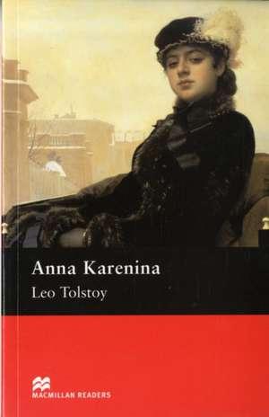 Tolstoy, L: Macmillan Readers Anna Karenina Upper Intermedia imagine