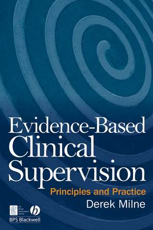 Evidence–Based Clinical Supervision