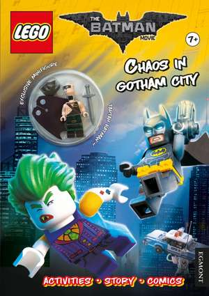 The LEGO (R) BATMAN MOVIE: Chaos in Gotham City (Activity book with exclusive Batman minifigure)
