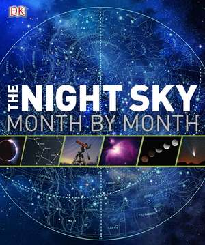 The Night Sky Month by Month imagine