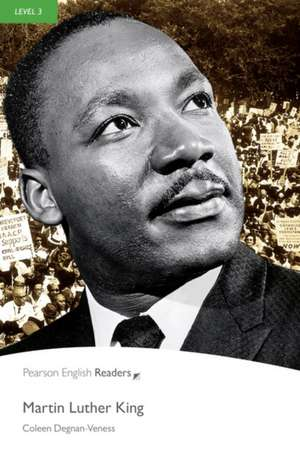Martin Luther King:  Curse of the Black Pearl, Level 2, Penguin Readers de Coleen Degnan-Veness