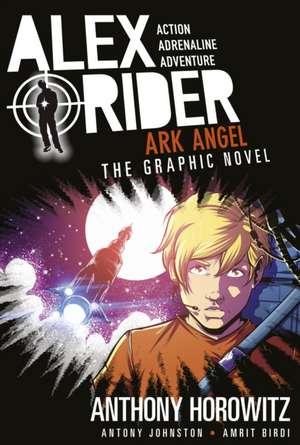 Ark Angel: The Graphic Novel de Antony Johnston