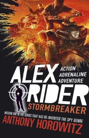 Alex Rider 01. Stormbreaker. 15th Anniversary Edition de Anthony Horowitz