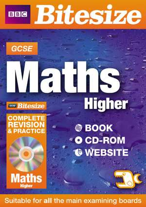GCSE Bitesize Maths Higher Complete Revision and Practice