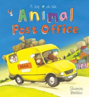 A Day at the Animal Post Office de Sharon Rentta