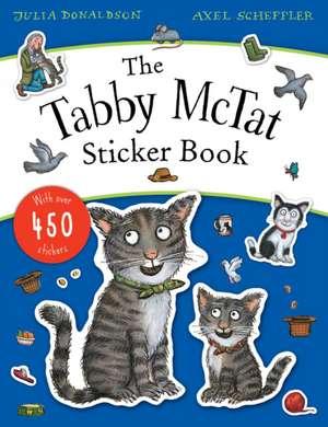 Tabby McTat Sticker Book imagine