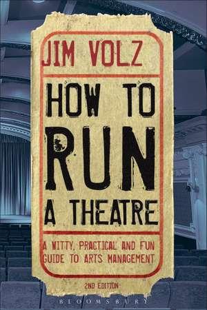 How to Run a Theatre imagine