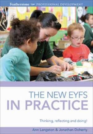 The Revised EYFS in practice de Ann Langston