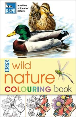 RSPB Wild Nature Colouring Book