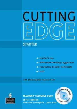 Cutting Edge Starter Teacher's Book with Test Master CD-Rom Pack