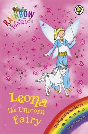 Meadows, D: Rainbow Magic: Leona the Unicorn Fairy de Daisy Meadows