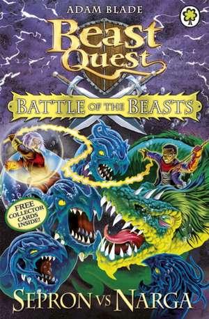 Beast Quest: Battle of the Beasts 3: Sepron Vs Narga de Adam Blade
