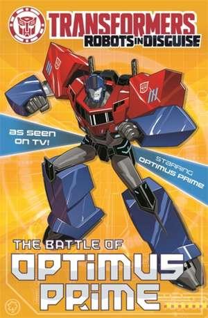Battle for Optimus Prime de John Sazaklis