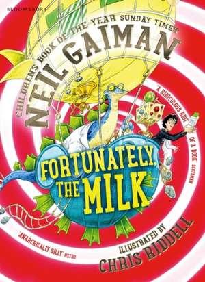 Fortunately, the Milk . . . de Neil Gaiman