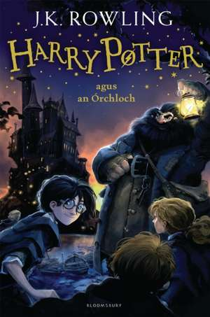 Harry Potter and the Philosopher's Stone (Irish) de J. K. Rowling