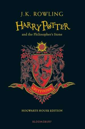 Harry Potter and the Philosopher's Stone – Gryffindor Edition de J. K. Rowling