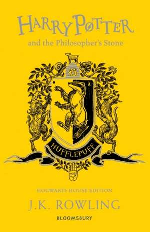 Harry Potter and the Philosopher's Stone – Hufflepuff Edition de J. K. Rowling