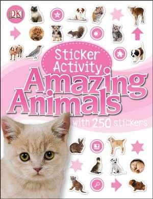 Sticker Activity Amazing Animals