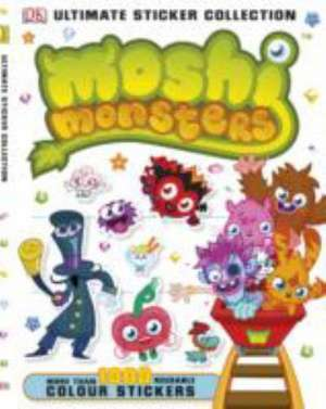 Moshi Monsters Ultimate Sticker Collection de DK