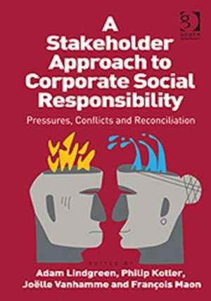 A Stakeholder Approach to Corporate Social Responsibility de Philip Kotler